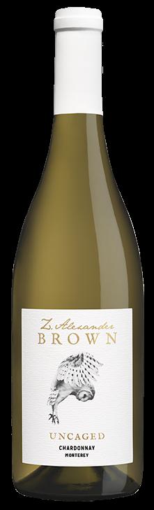 Z. Alexander Brown 2017 Uncaged Chardonnay, Santa Lucia Highlands, California