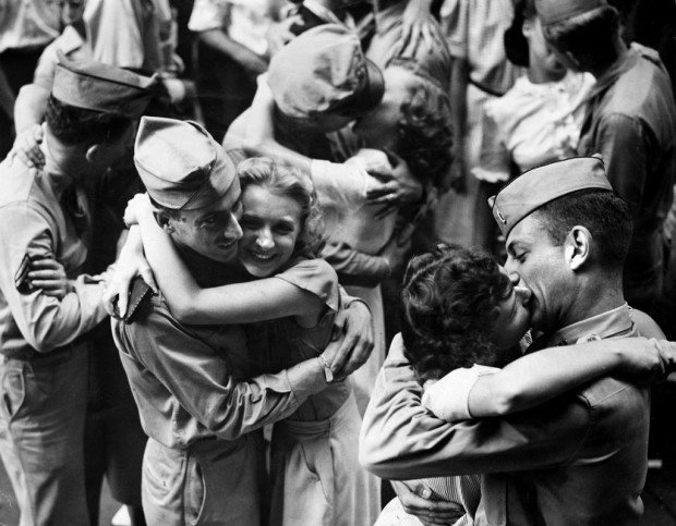 Look Back:  Victory Day, 1945
