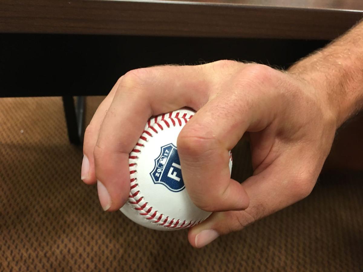 Adam Wainwright's grip