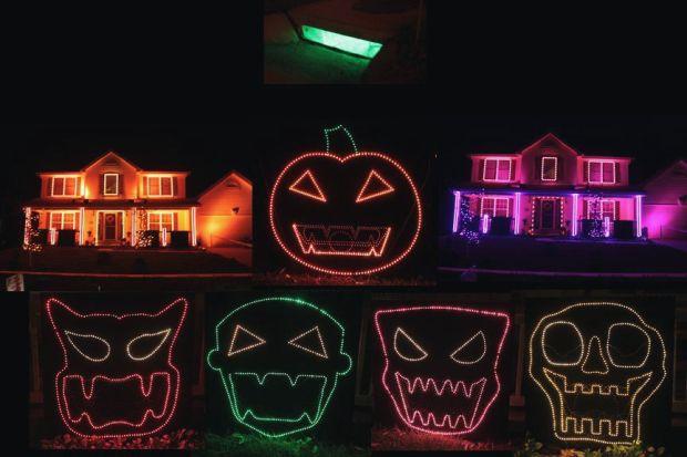 halloween contest - Cool Halloween Houses