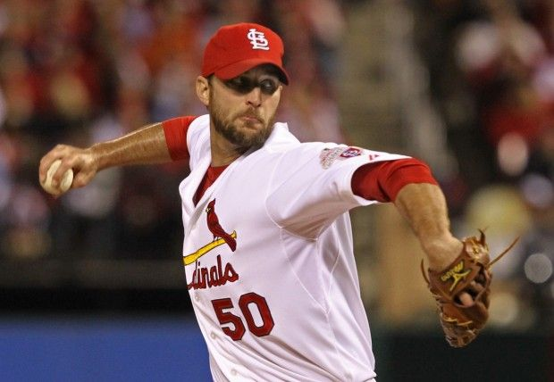 Cards and Giants play Game 4 at Busch