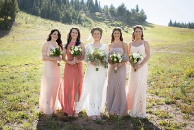 Weddings Mismatched Bridesmaids