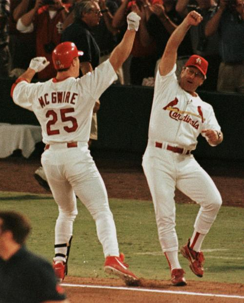 Image result for mcgwire 62nd home run