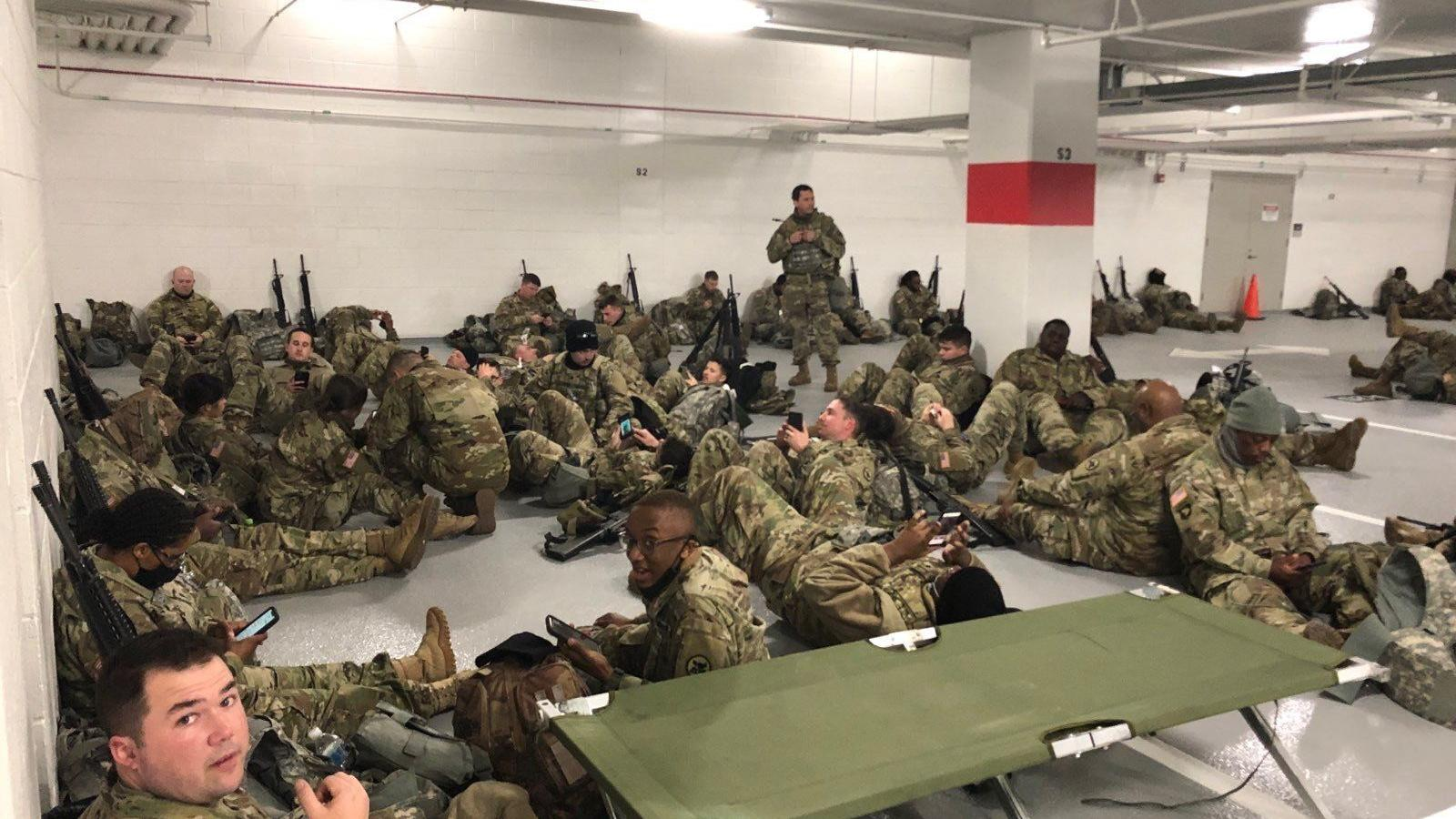 Your daily 6: Fauci finds new administration 'liberating,' Biden increasing virus-related food aid, National Guard banished to Capitol parking garage