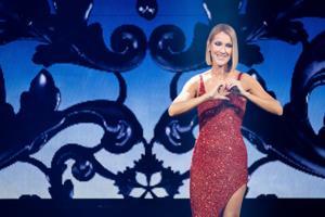 Nach der Eroberung Vegas, Celine Dion überragt Enterprise Center in concert