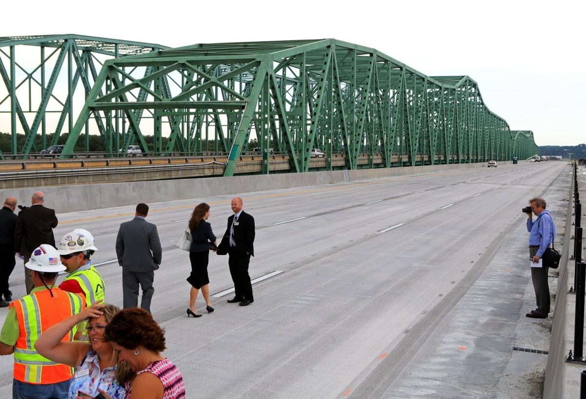 Boone bridge eastbound span to open soon