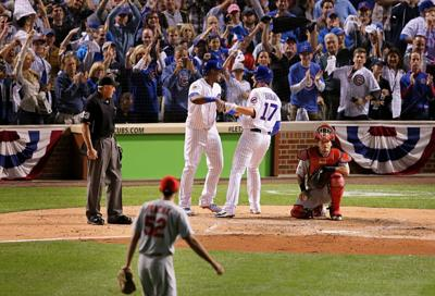 NLDS Game 3-St. Louis Cardinals vs Chicago Cubs