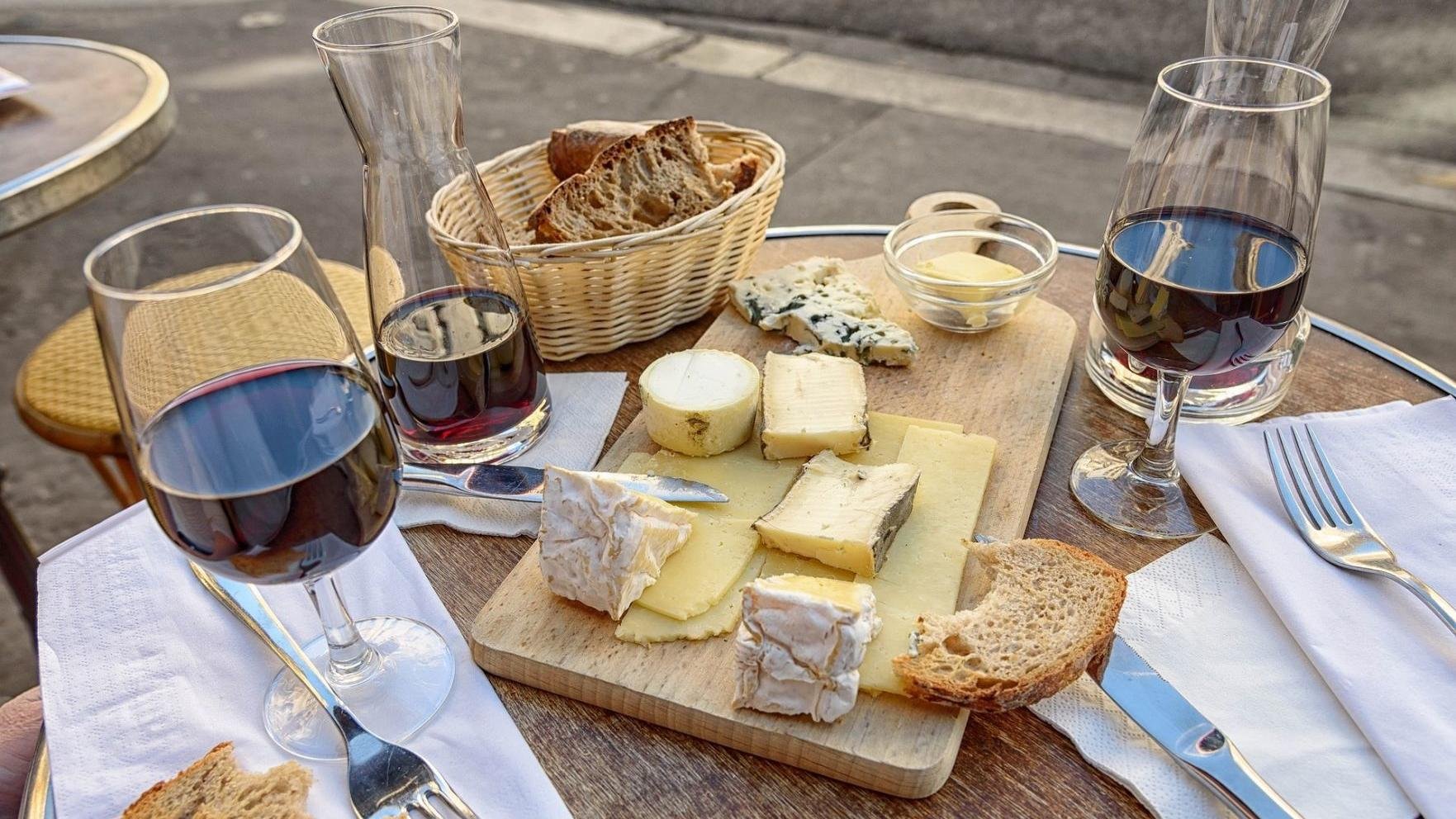 Perfect pairings: Instantly match your favorite wine with the best cheese