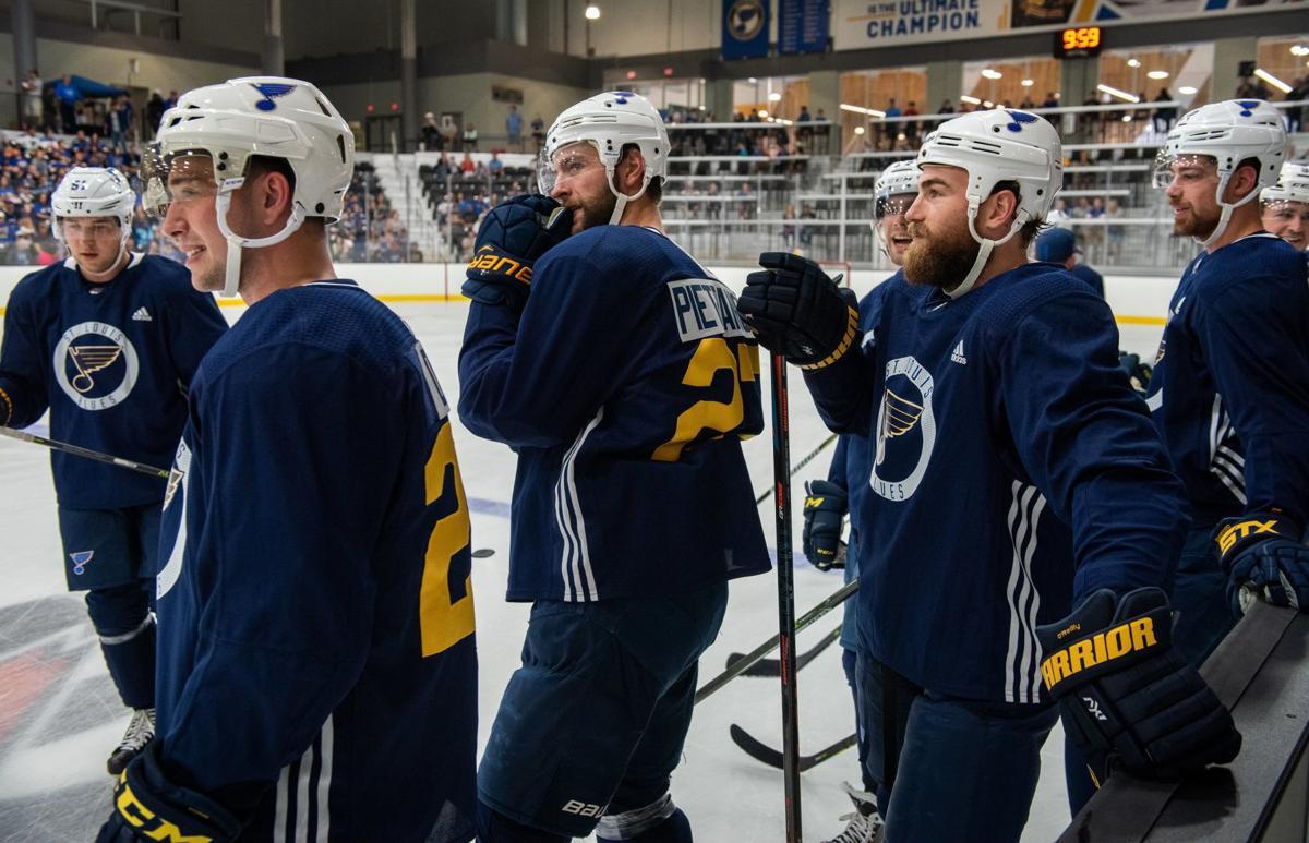 St. Louis Blues host first open practice of 2019-20 season (copy)