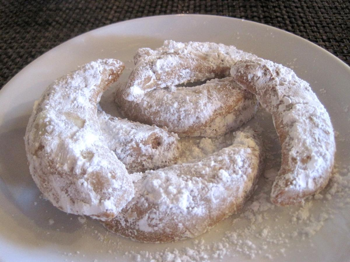 Special Request: Kourabiethes from The Greek Kitchen