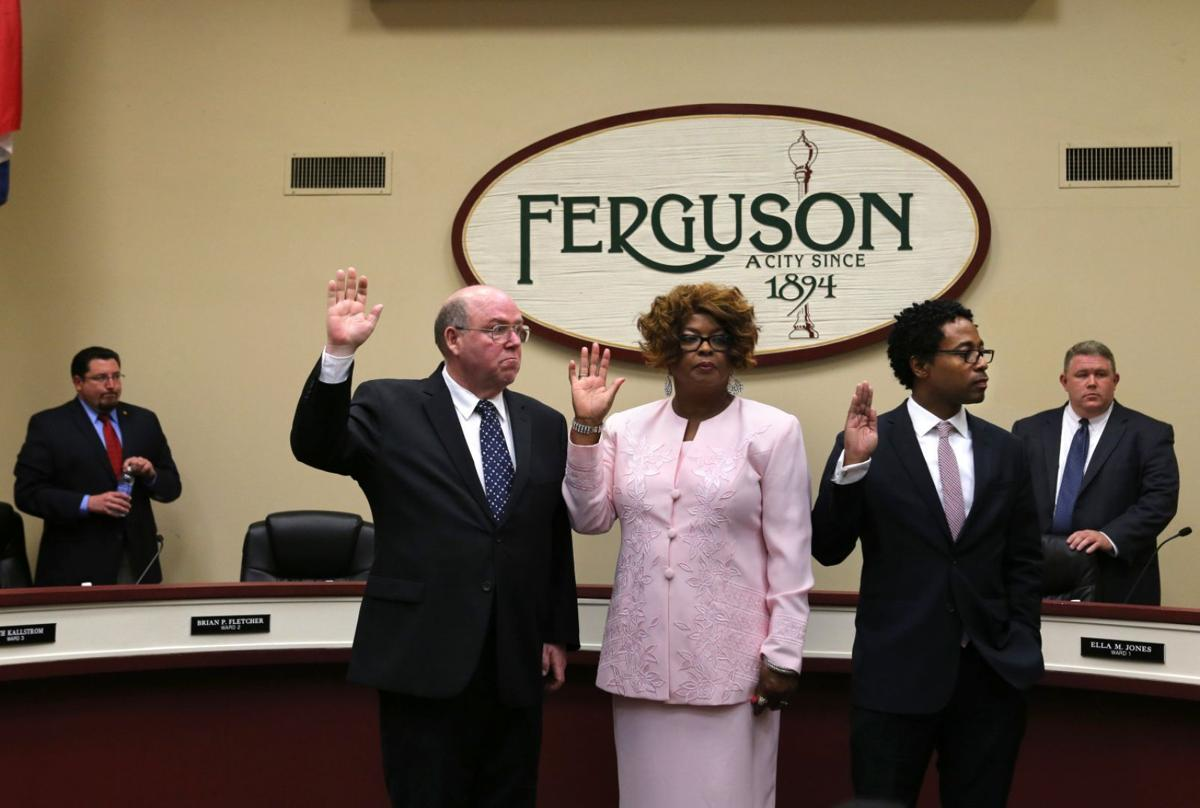 New Ferguson city councilmen
