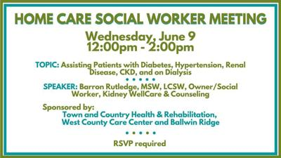Home Care Social Worker Meeting June 9, 2021 #srzreach