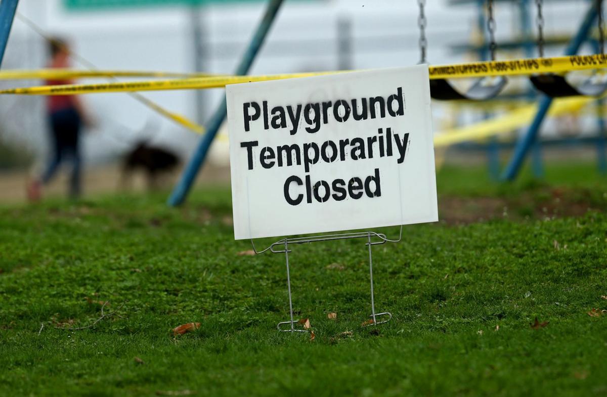 City playgrounds close
