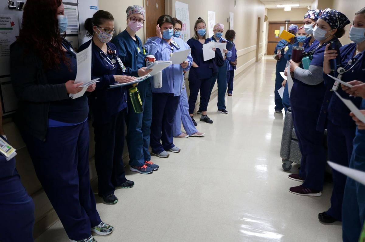 Under pressure: Soaring COVID-19 cases press local hospital to the limits