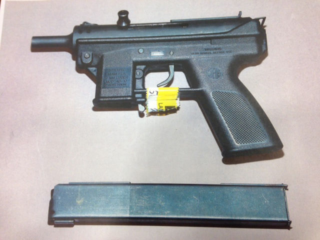 Intratec 9mm pistol recovered from man killed by St. Louis police