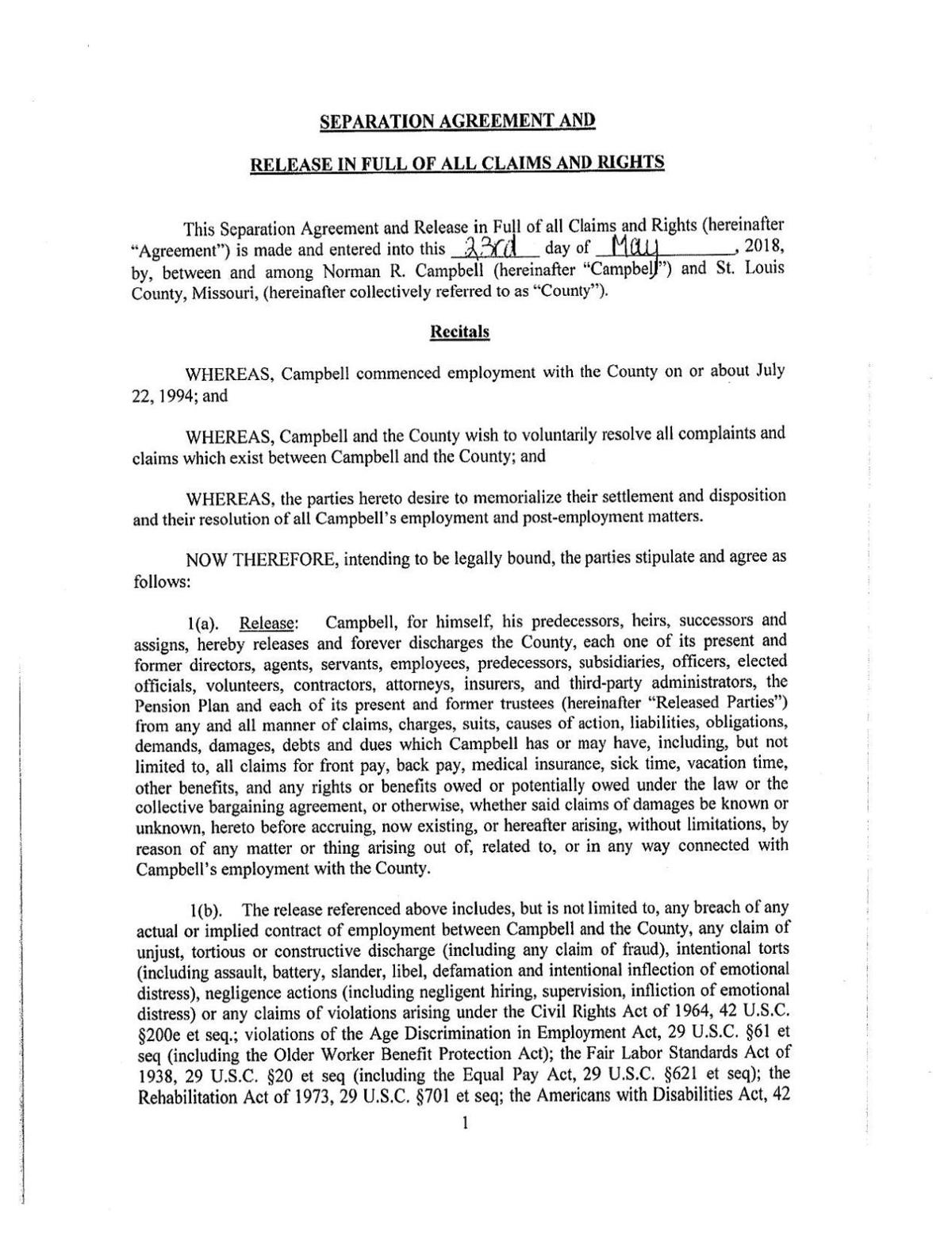 Norm campbell separation agreement multimedia stltoday download pdf norm campbell separation agreement thecheapjerseys Images