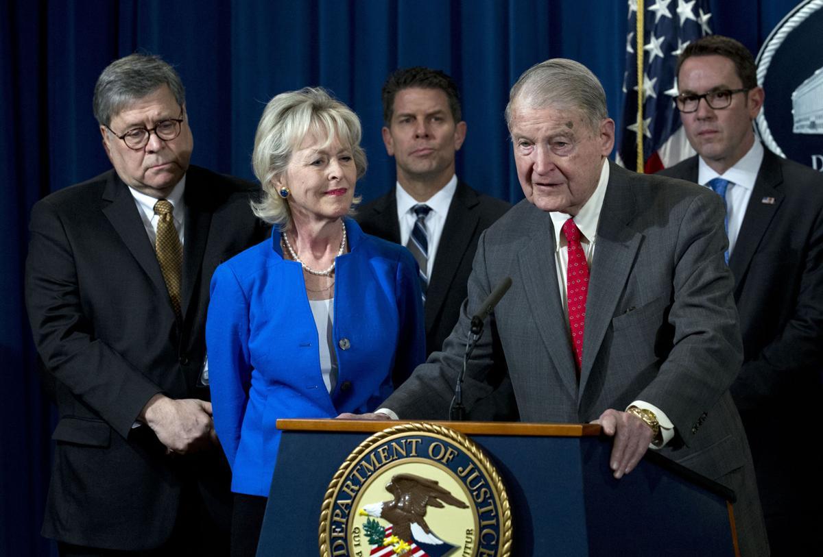 Former FBI and CIA director William Webster