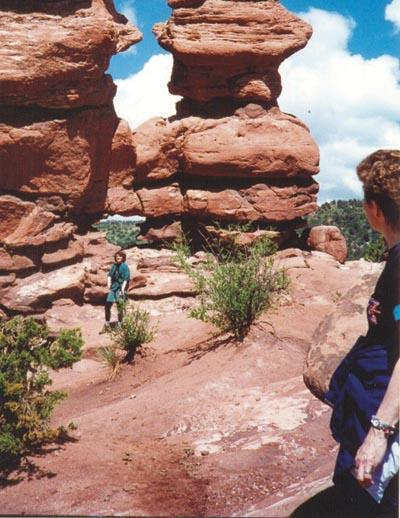 Garden of the Gods brilliant red monuments to nature