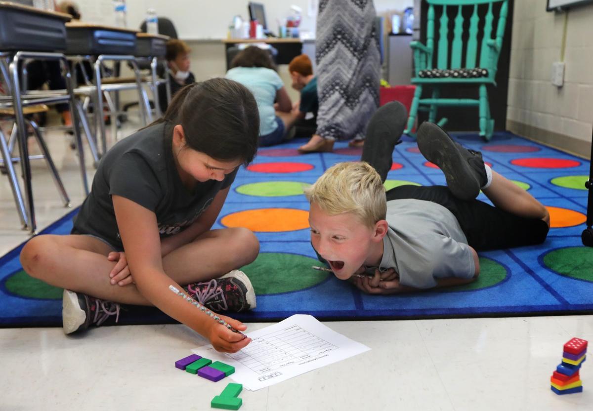 Summer school in session at Warrior Ridge Elementary
