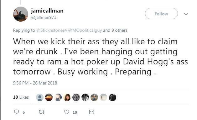 Allman tweet