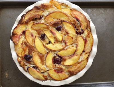 Become obsessed with clafoutis, a custardy fruit pancake