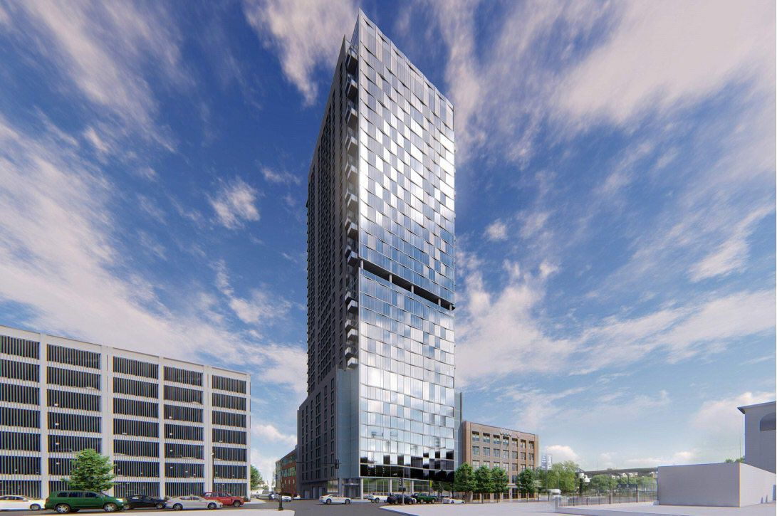 33 Story Apartment Tower Planned For Downtown St Louis Local