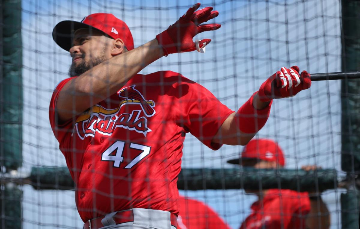Cards catcher Pena to miss only one week; Molina guns down 3 runners in squad game