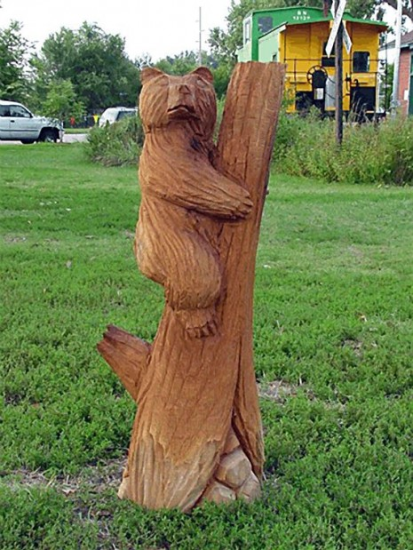 Guerillau d tree sculptor in north yorkshire identified is not