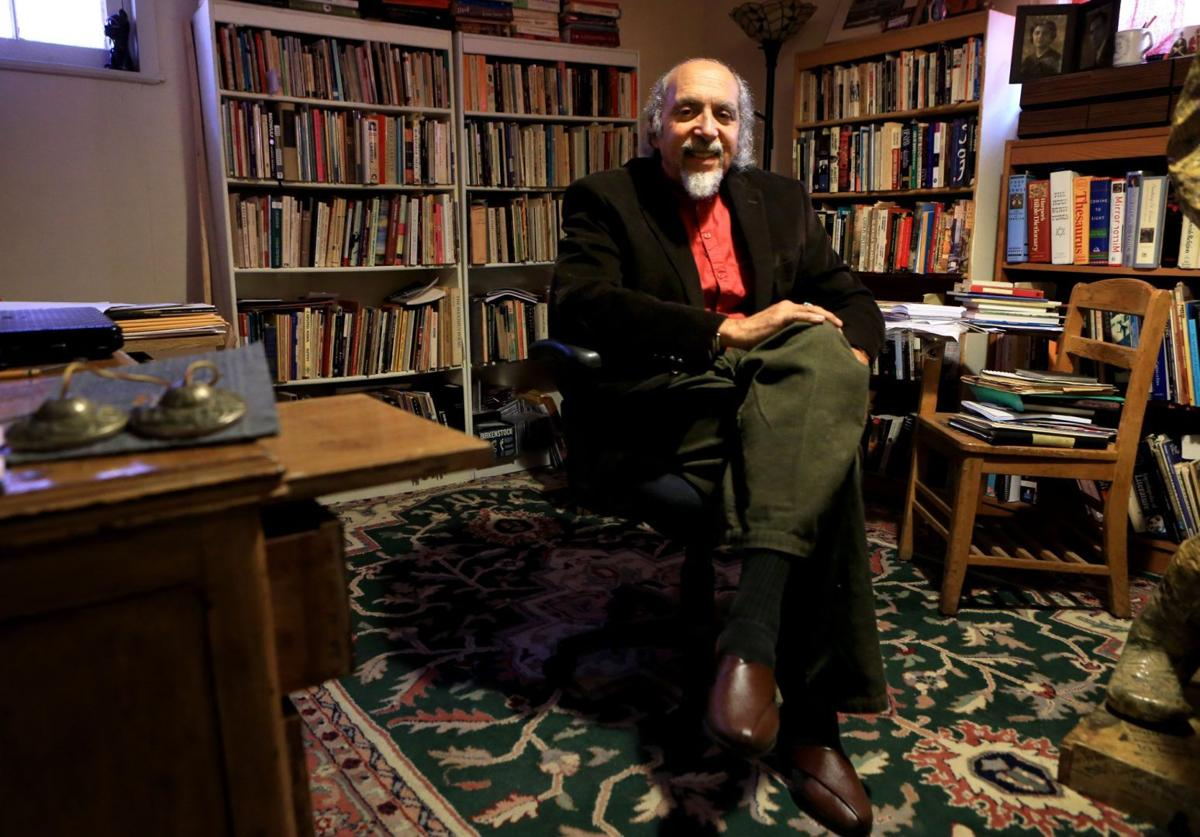 Michael Castro City S Poet Laureate Comes To New Position With  # Muebles Heve Castro