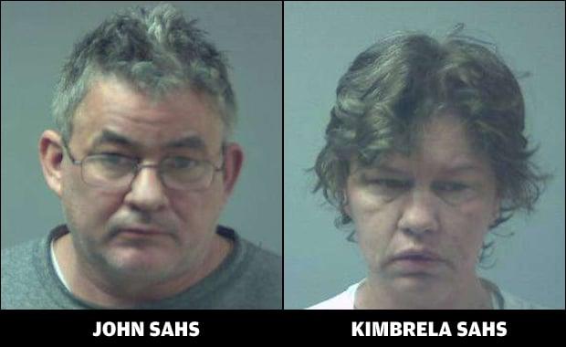 John Jeffery Sahs, Kimbrela Vivian Sahs