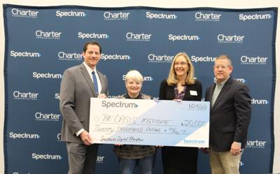 Spectrum Announces $20,000 Grant to Oasis Institute
