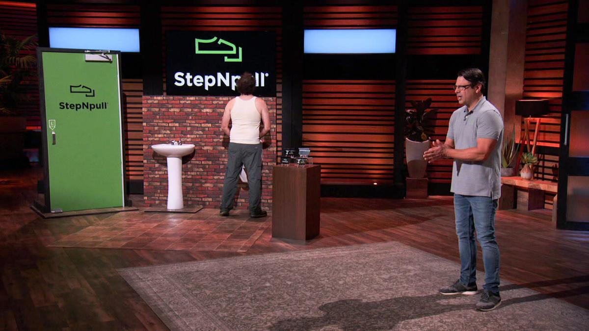 """StepNpull lands a six-figure deal on """"Shark Tank"""""""