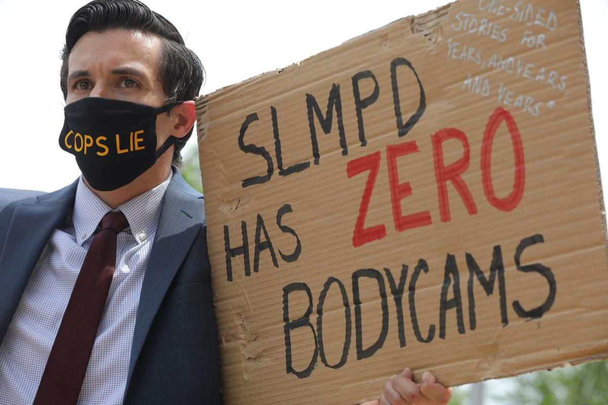 Public defenders demonstrate for Black Lives Matter