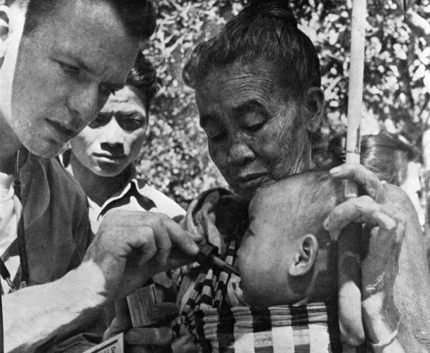 Dr. Thomas A. Dooley in Laos