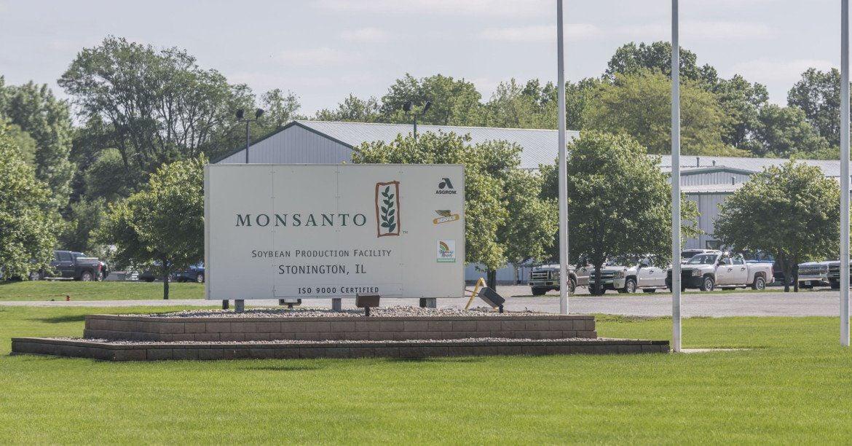 Monsanto facility in Stonington, Illinois
