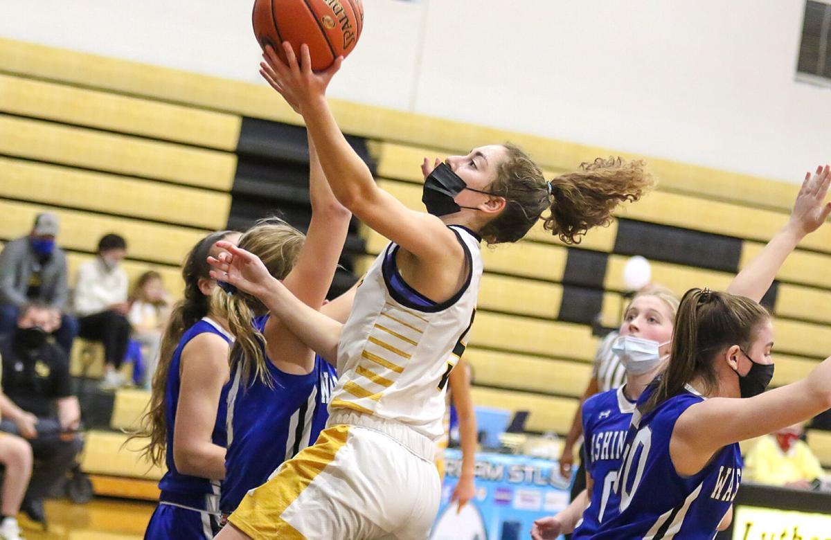 Lutheran South vs. Washington girls basketball