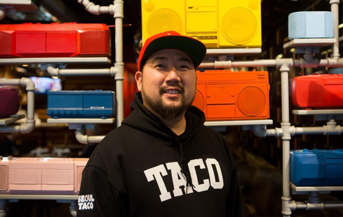 David Choi, owner of Seoul Taco.