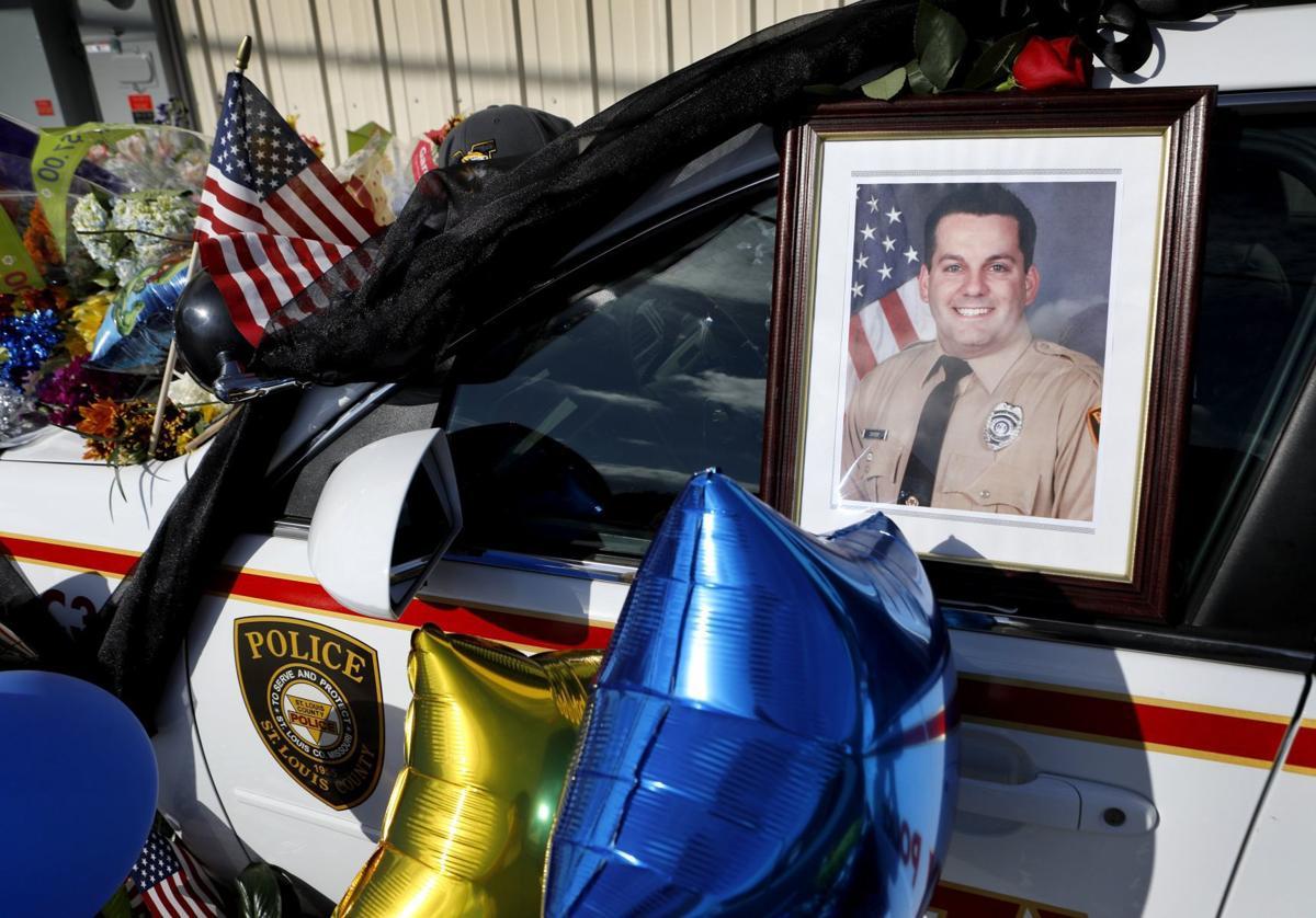 Memorial for officer Blake Snyder