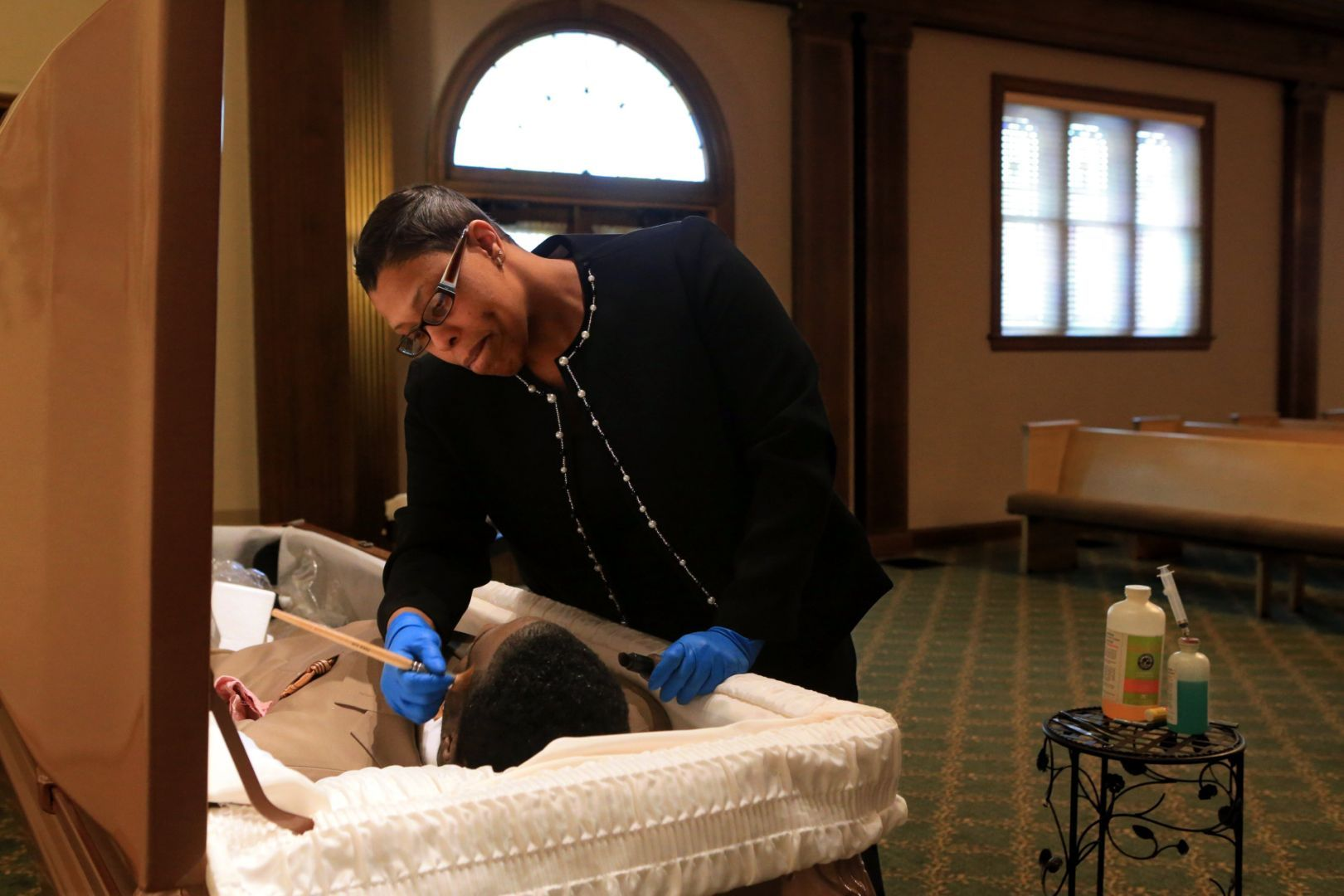 Mortician Of Color Seizes Changing Demographics