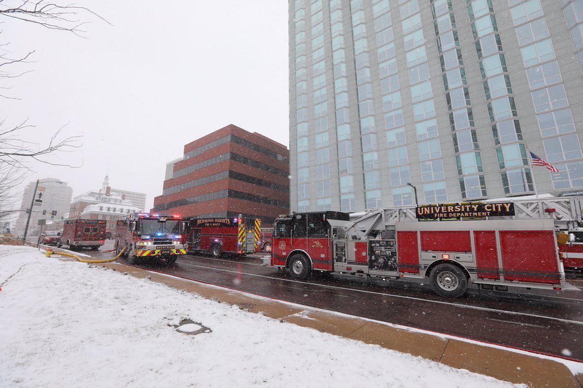Fire in Clayton