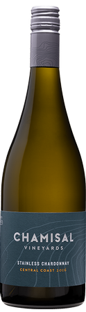 Chamisal Vineyards 2017 Stainless Chardonnay, Central Coast, California