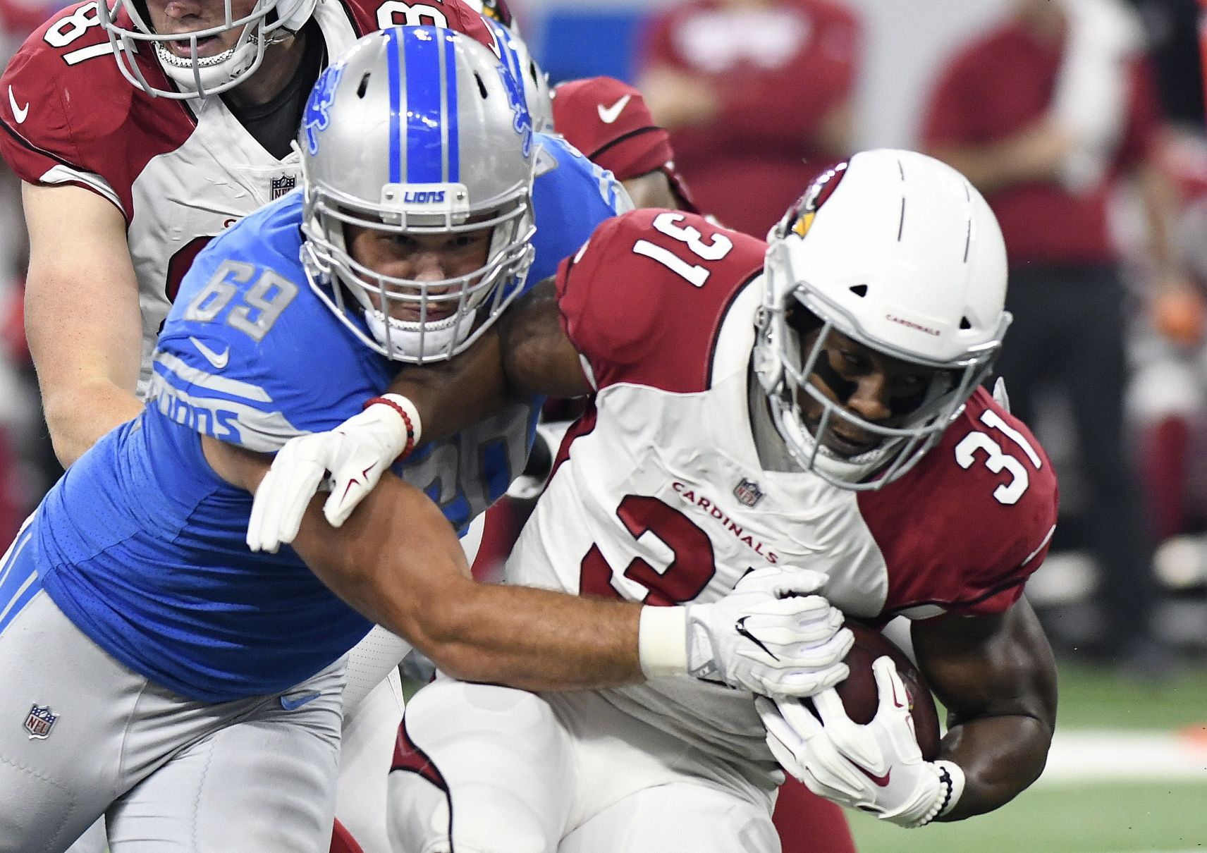 Defense, Golladay star as Lions surge past Cardinals