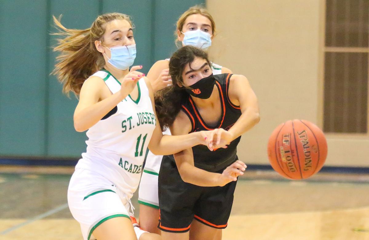 St. Joseph's vs. Webster Groves basketball