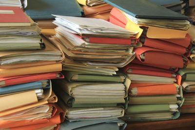 Paperwork, files
