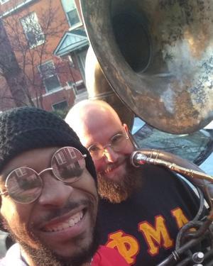 Stand by me, tapi selain: 2-pria band mengangkat satu St. Louis yang
