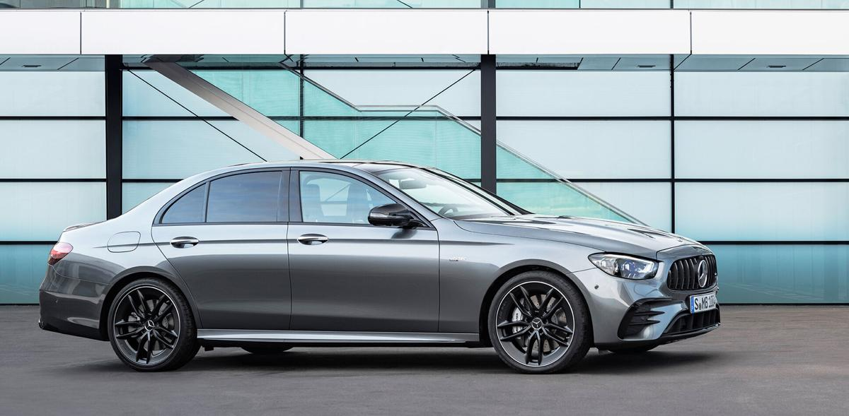 Boasting a techy powerplant, the E53 sedan features a turbocharged straight six that gets additional go-fast assist from a mild hybrid system.