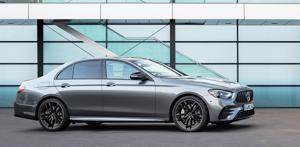 2021 Mercedes-Benz AMG E53 sedan.