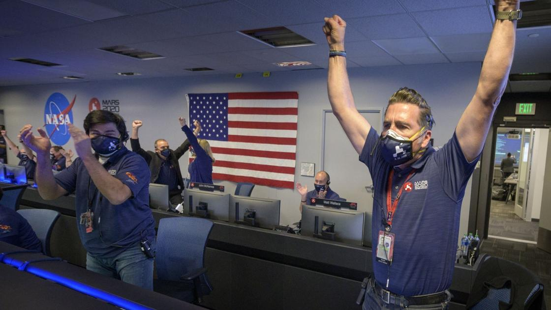 NASA drops tribute video of Mars landing, feat aided by STLers