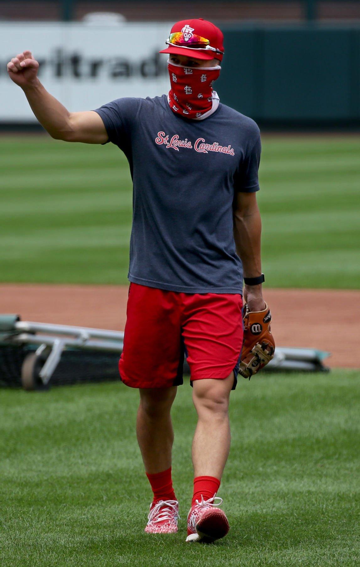 Cardinals resume practice at Busch