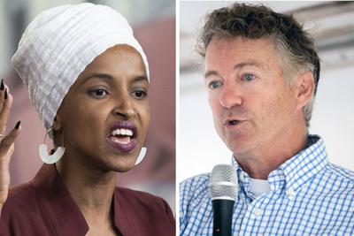 Ilhan Omar and Rand Paul
